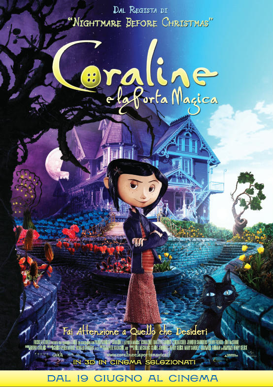 Coraline e la porta magica in streaming