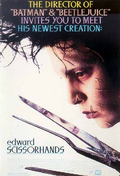 Edward mani di forbice in streaming