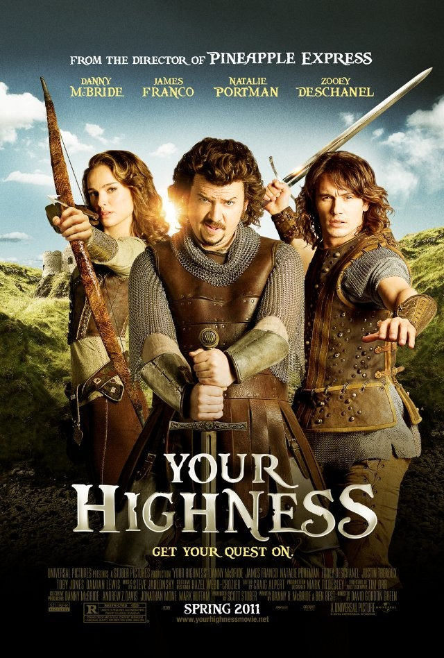 Your Highness (Ita) (2011) streaming film megavideo videobb